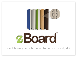 zBoard - Revolutionary eco-alternative to particle board, MDF